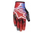 ALPINESTARS RACER BRAAP GLOVE RED WHITE BLUE
