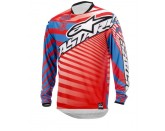 ALPINESTARS RACER BRAAP JERSEY RED BLUE WHITE