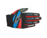 TECHSTAR FACTORY GLOVES Red Alpinestars