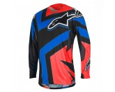 TECHSTAR FACTORY JERSEY Red Alpinestars