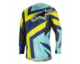 TECHSTAR FACTORY JERSEY Lime Alpinestars